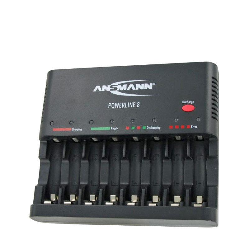 Foto van Ansmann Powerline 8 batterijlader