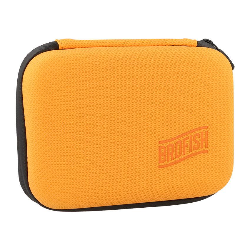 Foto van Brofish Case Small GoPro Edition Orange Rubber