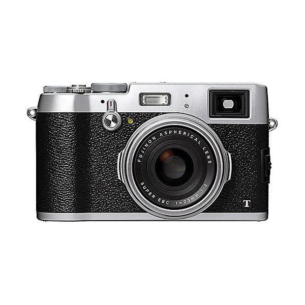 Fujifilm FinePix X100T compact camera Zilver