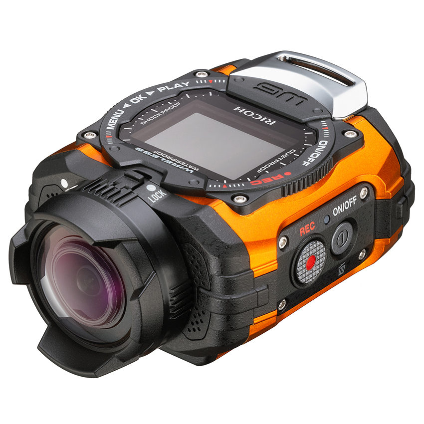 Ricoh WG-M1 action cam Oranje
