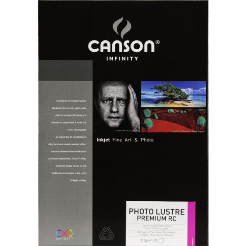 Image of Canson Infinity Photo Lustre Premium A3 310gr 25vel