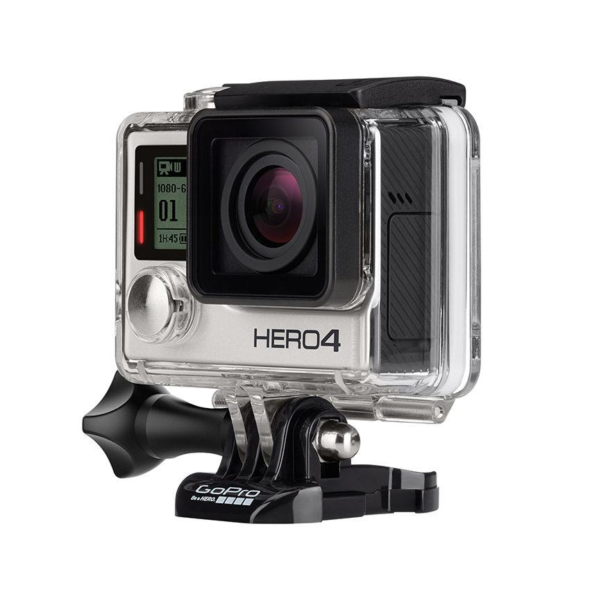 GoPro HD Hero 4 action cam Silver Motor kit