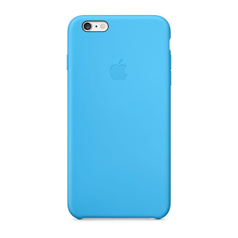 Afbeelding van Apple iPhone 6 Plus Silicone Case Blue