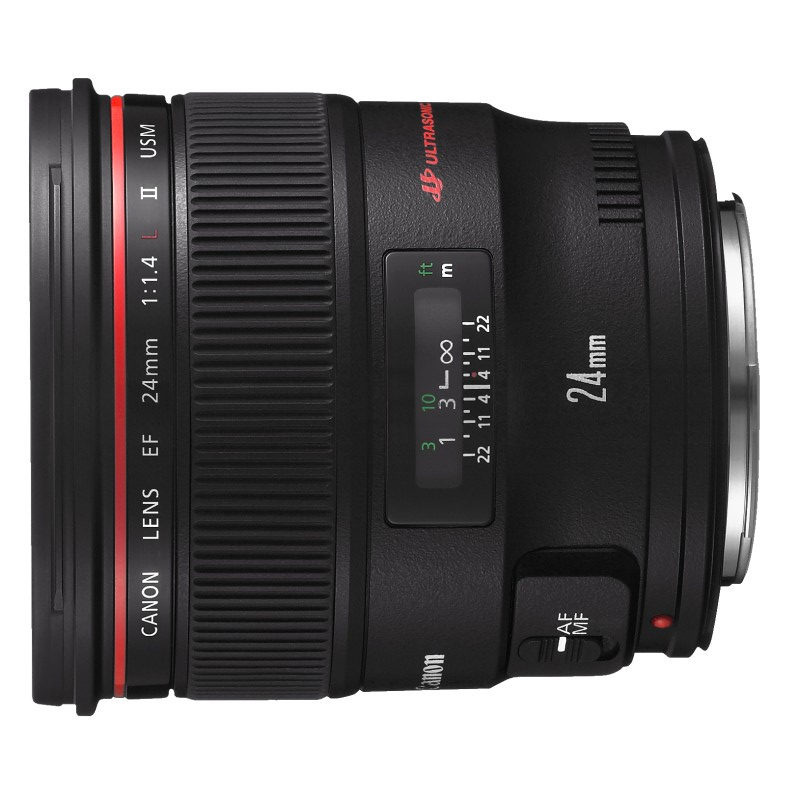Canon EF 24mm f/1.4L USM II objectief