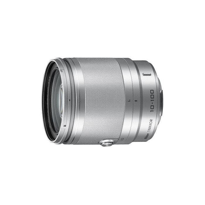 1 Nikon 10-100mm f/4.0-5.6 VR objectief Zilver