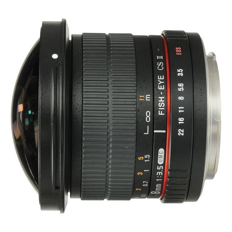 SAMYANG Objectief voor Canon FOTO Lenzen Objectief voor Canon Objectief voor Canon