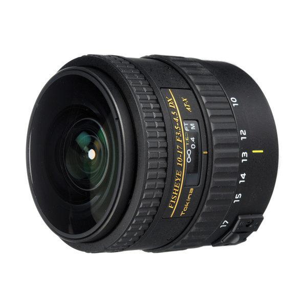 Foto van Tokina AT-X 10-17mm f/3.5-4.5 Canon No Hood objectief