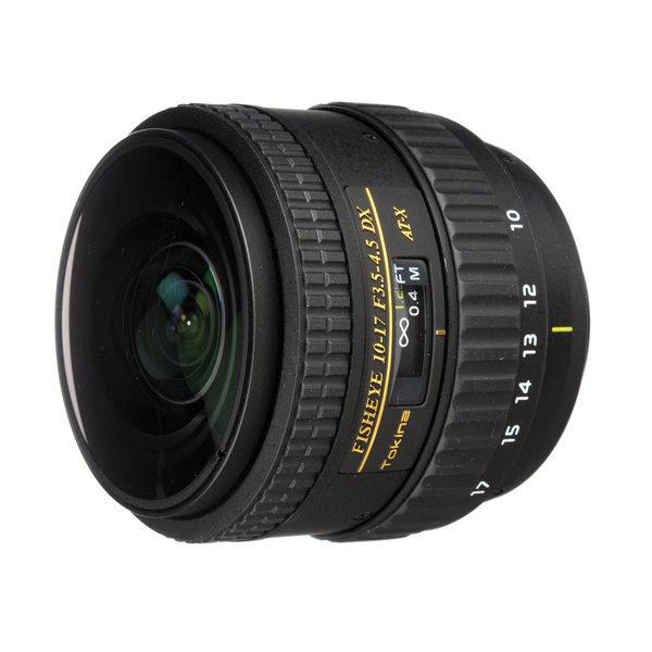 Foto van Tokina AT-X 10-17mm f/3.5-4.5 Nikon No Hood objectief