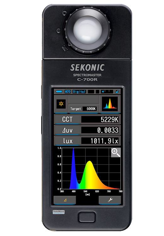 Foto van Sekonic C-700R lichtmeter