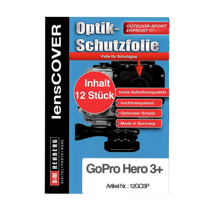 Digicover GoPro Hero 3+ 12-stuks