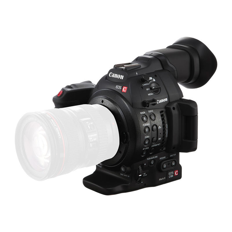 Canon EOS C100 Mark II videocamera