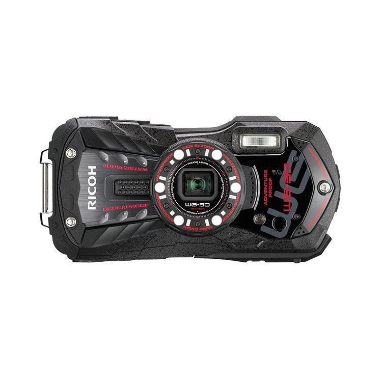 Ricoh WG-30 compact camera Ebony Black