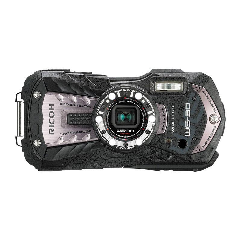 Ricoh WG-30W compact camera Carbon Gray