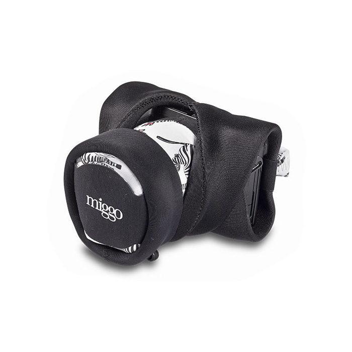 Foto van Miggo Padded Camera Grip and Wrap Zebranation voor CSC