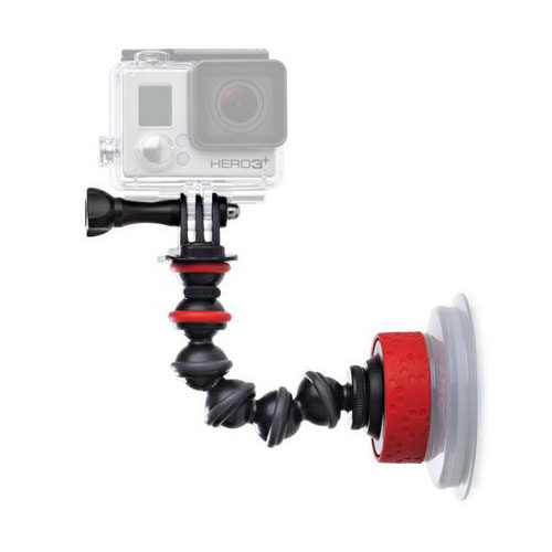 Joby Suction Cup & GorillaPod Arm Black-Red