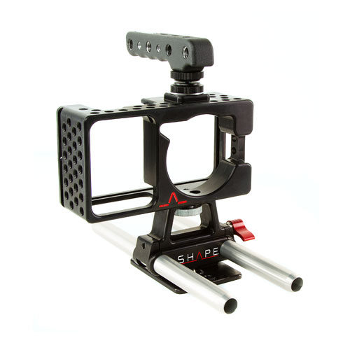 Foto van Shape Blackmagic Pocket Cage inclusief 15mm Rod Bars