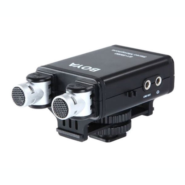 Image of Boya BY-SM80 Stereo Microfoon voor DSLR Camera