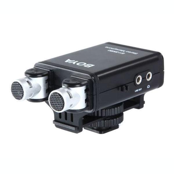 Boya BY-SM80 Stereo Microfoon voor DSLR Camera