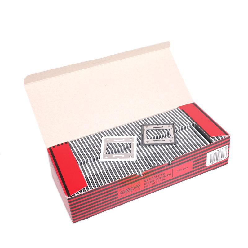 Gepe glasloos diaraam-set metaal - 100 stuks