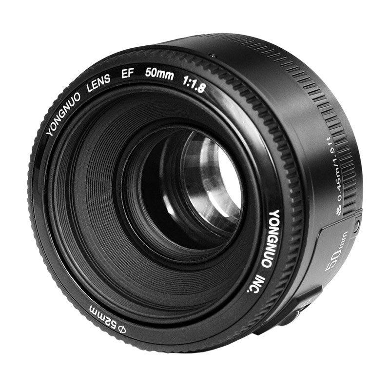 Yongnuo YN 50mm f/1.8 Canon objectief met korting