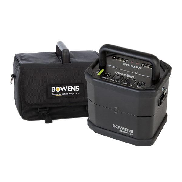Foto van Bowens Travelpak Battery System Kit Small
