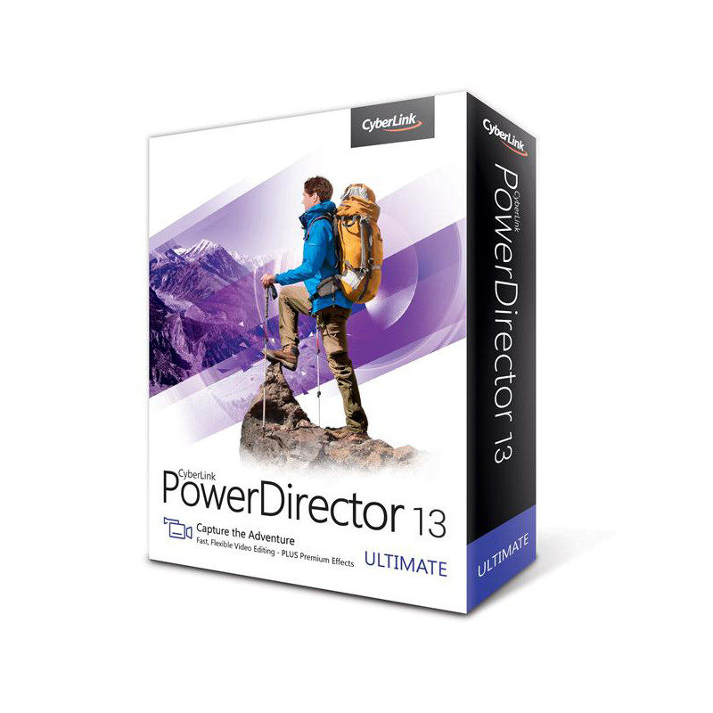 Foto van CyberLink PowerDirector 13 Ultimate - POSA