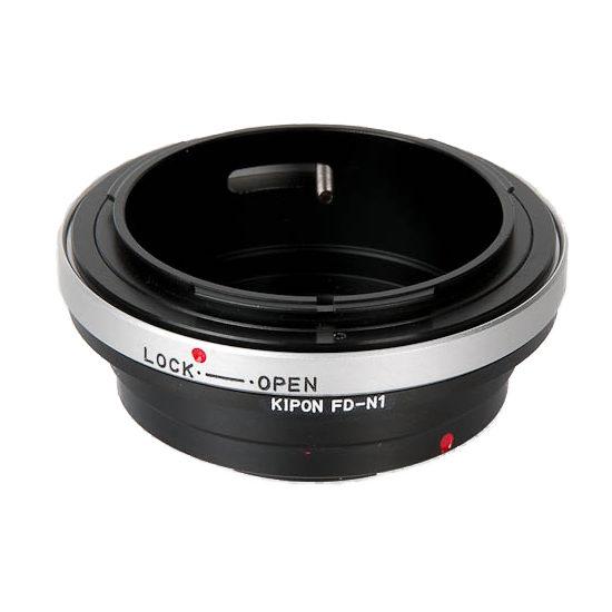 Foto van Kipon Lens Mount Adapter (Canon FD naar Nikon 1)