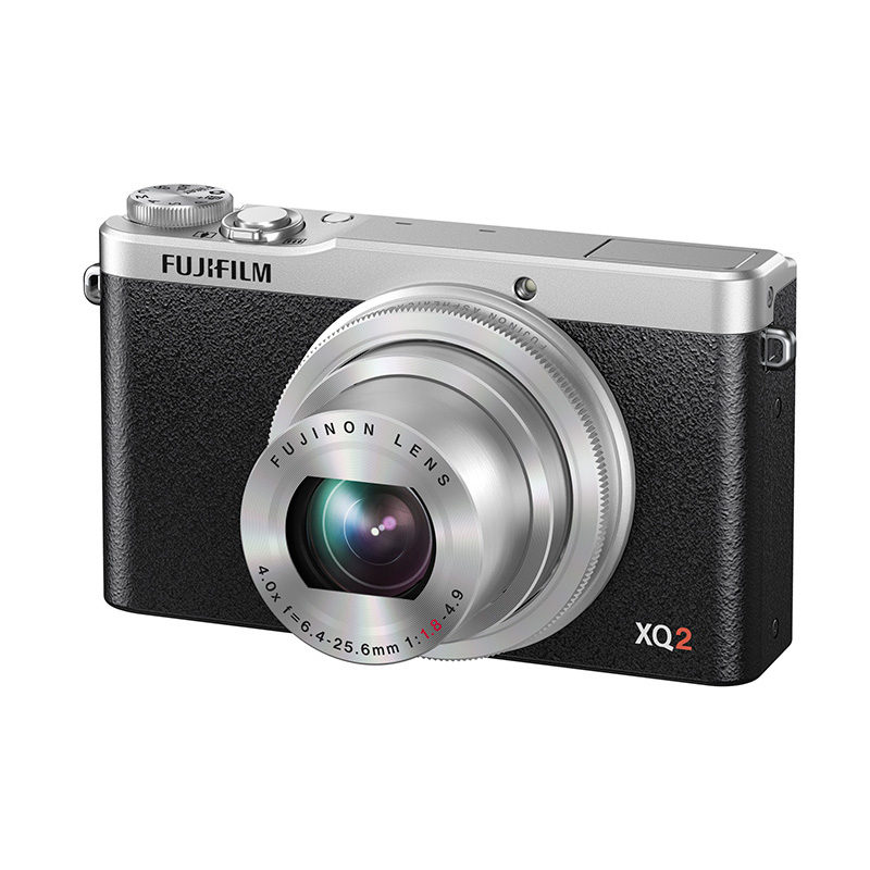Fujifilm FinePix XQ2 compact camera Zilver