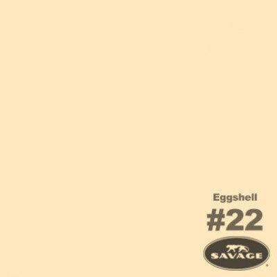 Foto van 2 x Savage Achtergrondrol Egg Shell (nr 22) 2.75m x 11m