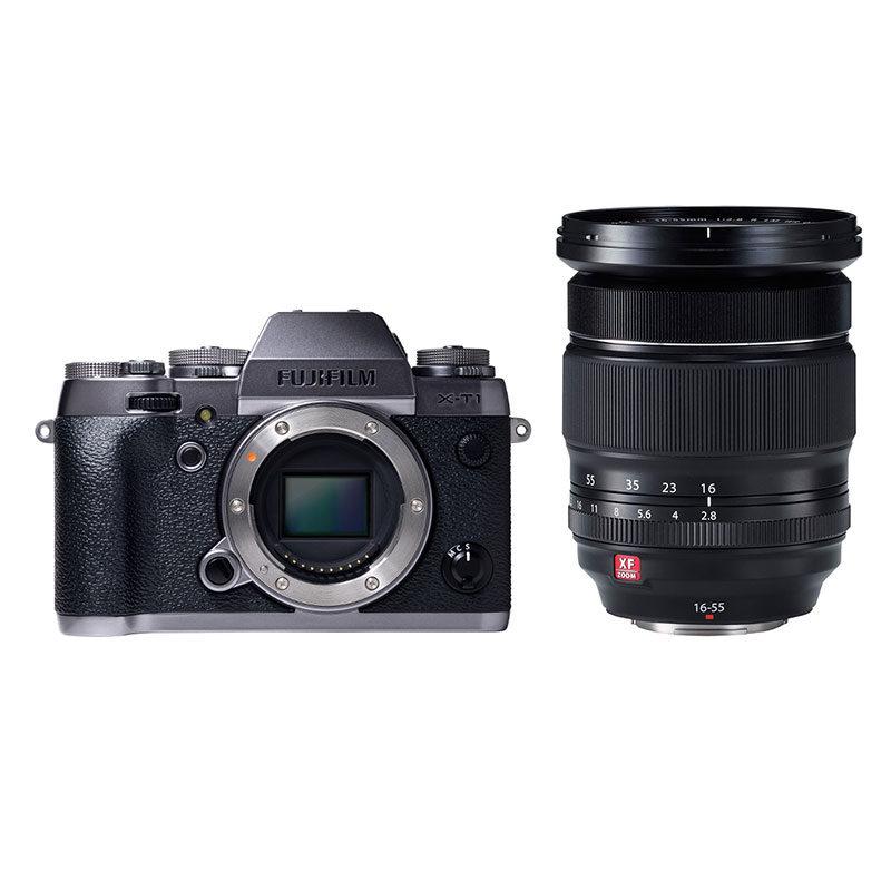 Fujifilm X-T1 systeemcamera Graphite Silver Edition + 16-55mm