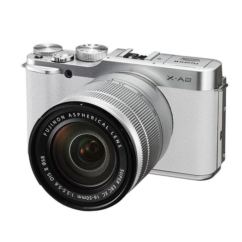 Fujifilm X-A2 systeemcamera Wit + 16-50mm