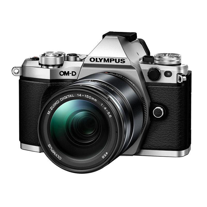 Olympus OM-D E-M5 Mark II systeemcamera Zilver + 14-150mm II Zwart <br/>€ 1249.00 <br/> <a href='https://www.cameranu.nl/fotografie/?tt=12190_474631_241358_&r=https%3A%2F%2Fwww.cameranu.nl%2Fnl%2Fp652085%2Folympus-om-d-e-m5-mark-ii-systeemcamera-zilver-14-150mm-ii-zwart%3Fchannable%3De10841.NjUyMDg1%26utm_campaign%3D%26utm_content%3DOM-D%2Bserie%26utm_source%3DTradetracker%26utm_medium%3Dcpc%26utm_term%3DDigitale%2Bcamera%26apos%3Bs' target='_blank'>naar de winkel</a>