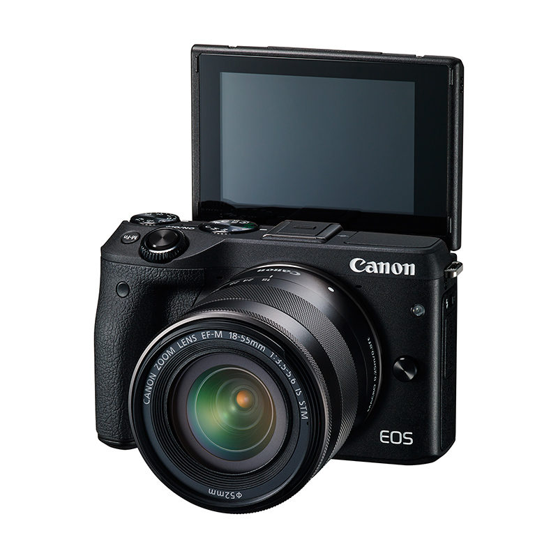 canon eos m3 systeemcamera 18 55mm stm. Black Bedroom Furniture Sets. Home Design Ideas
