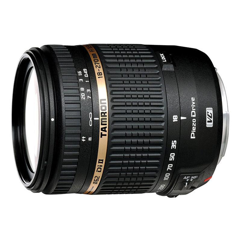 Foto van Tamron AF 18-270mm f/3.5-6.3 Di II VC PZD Nikon objectief