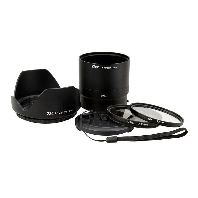 Kiwi Lens Adapter Kit voor Nikon Coolpix P600