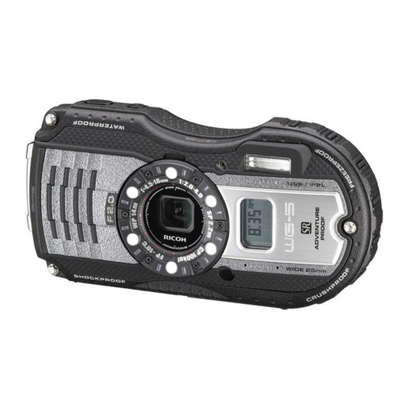 Ricoh WG-5 GPS compact camera Gun Metallic