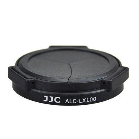 Foto van JJC ALC-LX100 Automatische Lensdop voor Panasonic DMC-LX100 - Zwart