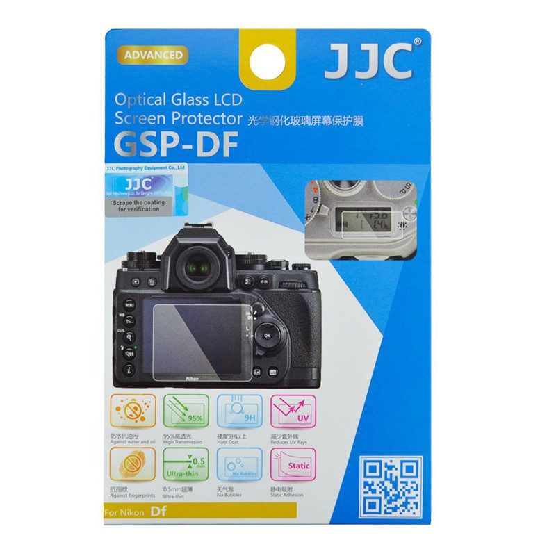 JJC GSP-DF Optical Glass Protector voor Nikon Df