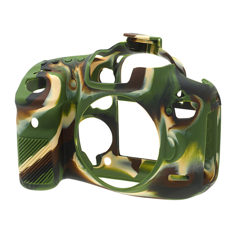 Foto van EasyCover Cameracase Canon EOS 7D Mark II Camouflage