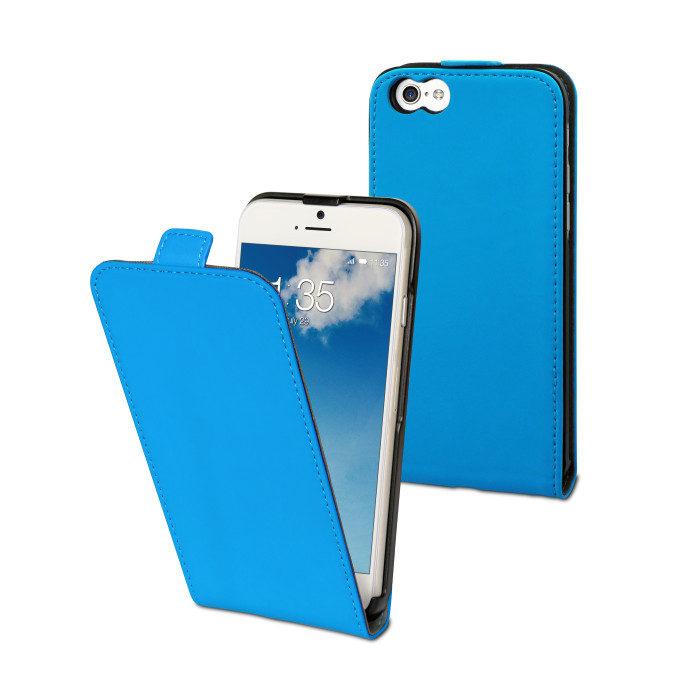 muvit iPhone 6 Plus Slim Case Placid Blue/Dark Grey