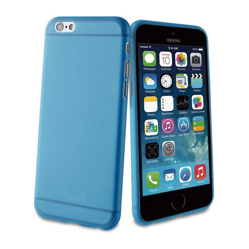 muvit iPhone 6 Plus ThinGel Case Blue
