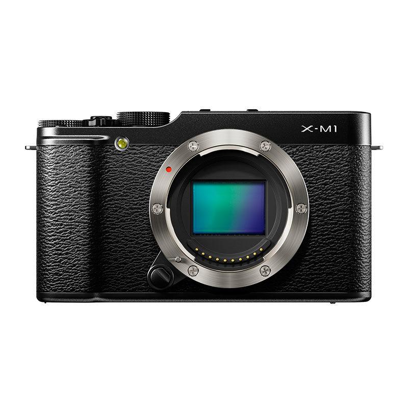 Fujifilm X-M1 systeemcamera body Zwart