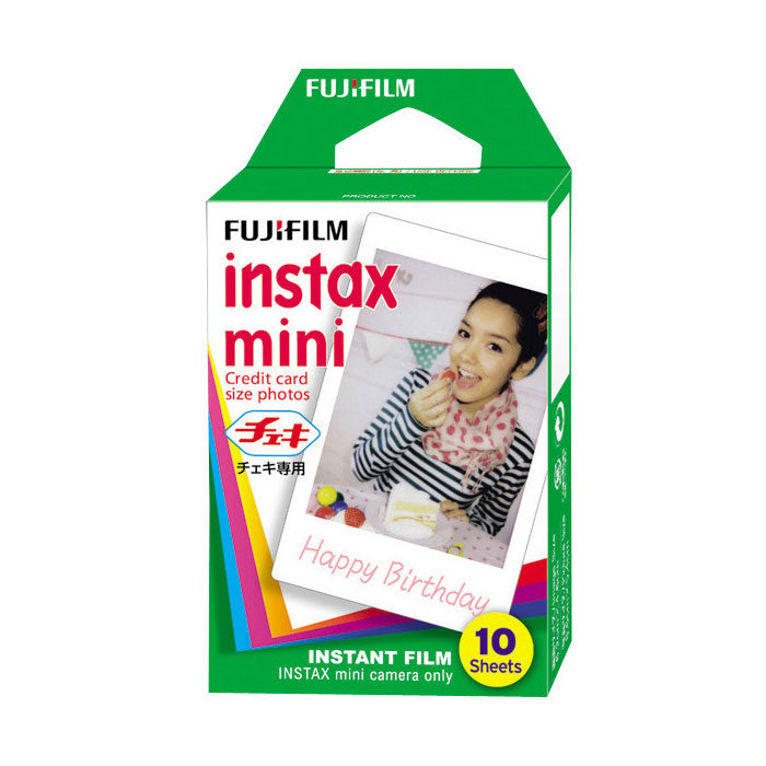 Image of 1x1 Fujifilm Instax Film Mini ( 1-Pak )