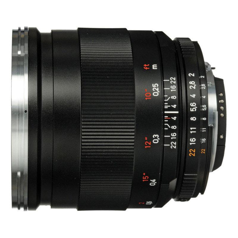 Image of Carl Zeiss 25mm f 2 Distagon T* ZF.2 - voor Nikon