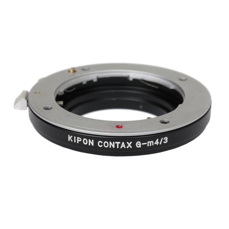 Kipon Lens Mount Adapter (Contax G (geared) naar Micro 4/3)