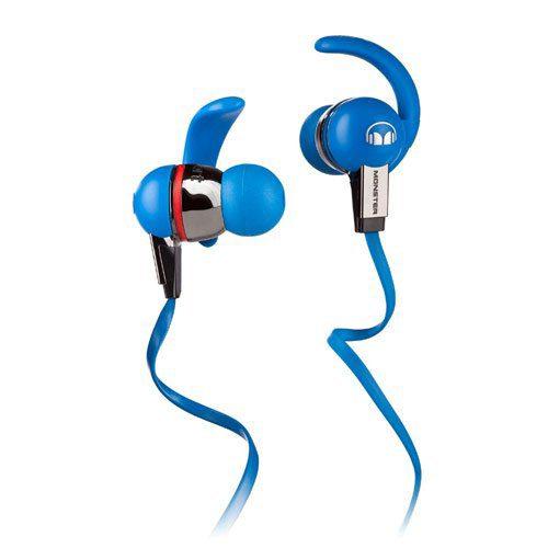 Foto van Monster iSport Immersion Blue In-Ear koptelefoon