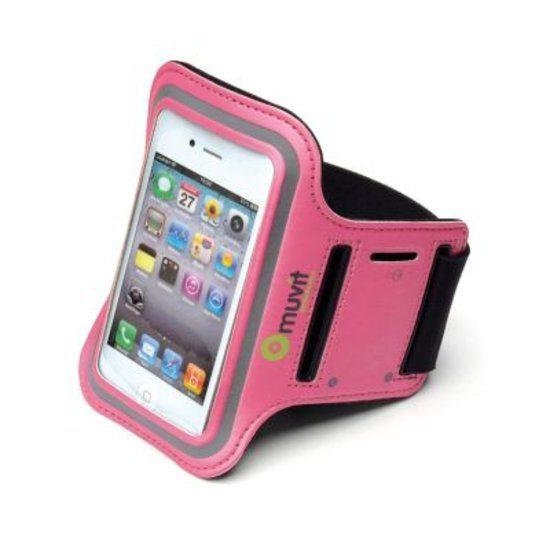 muvit Universal Sportsarmband L Pink
