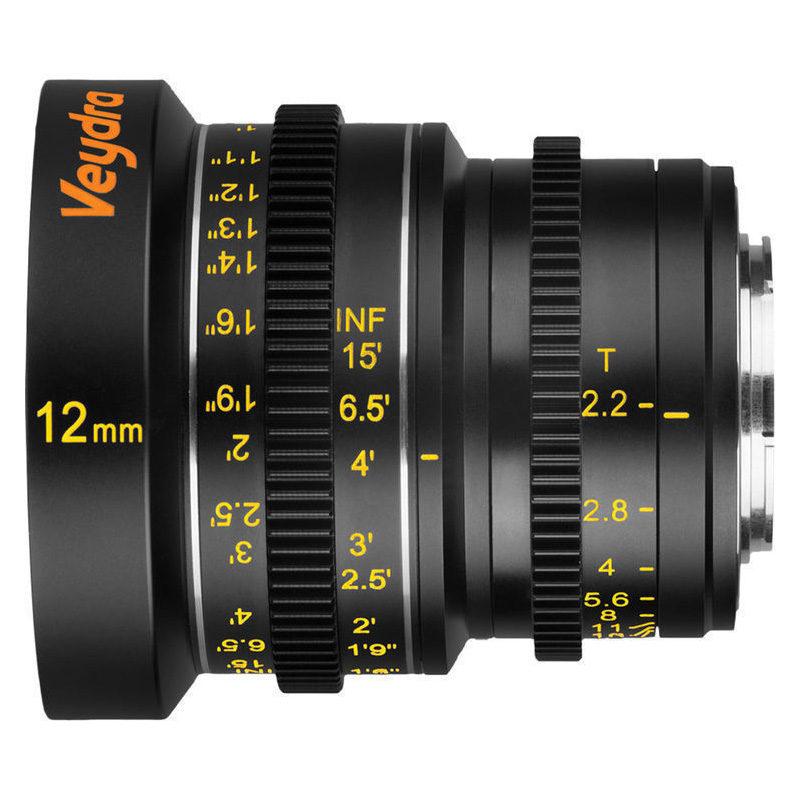Foto van Veydra Mini Prime 12mm T2.2 MFT objectief