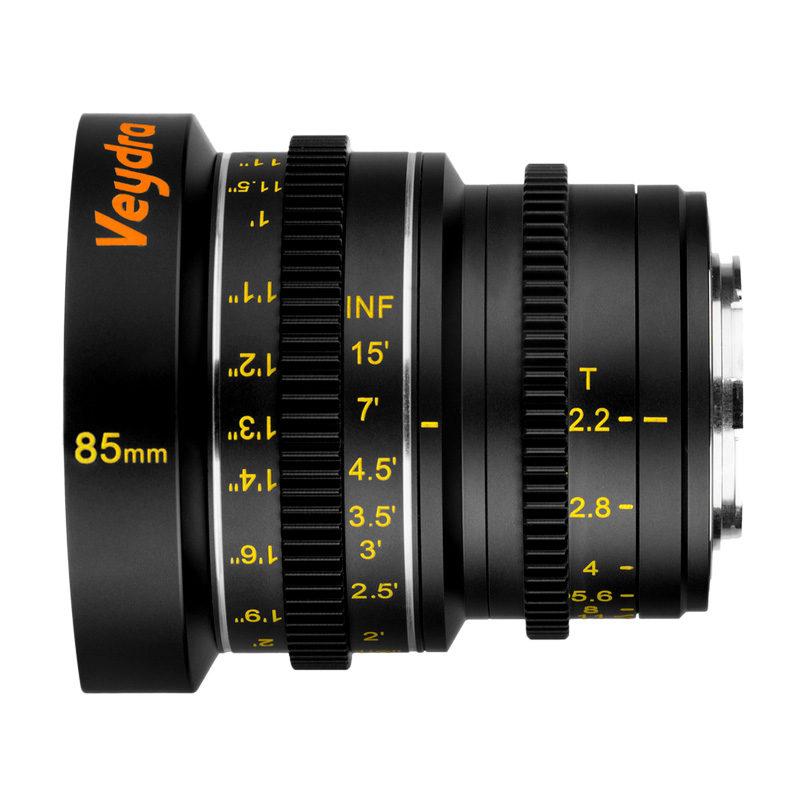 Foto van Veydra Mini Prime 85mm T2.2 MFT objectief