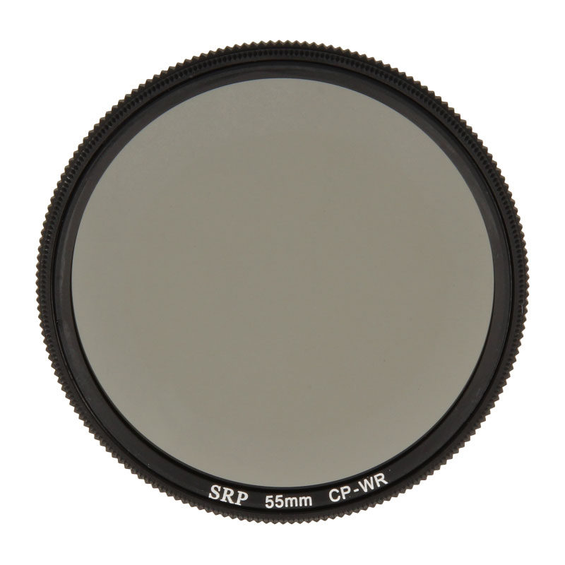 Foto van Snake River Prototyping 55mm SRP Water Repelling CP Filter